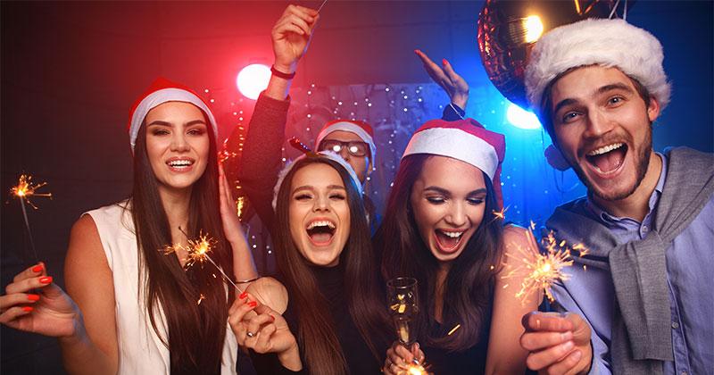 Weihnachtsfeier Warschau - Im Partybus feiern